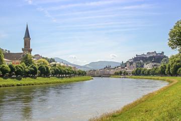 Salzburg, Panorama, Festung Hohensalzburg