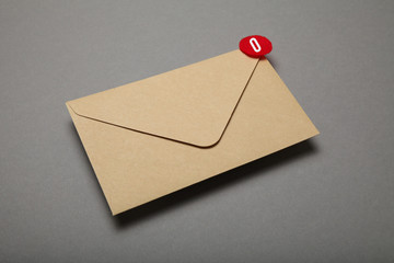 Advertising mail, client communication. Business communication.