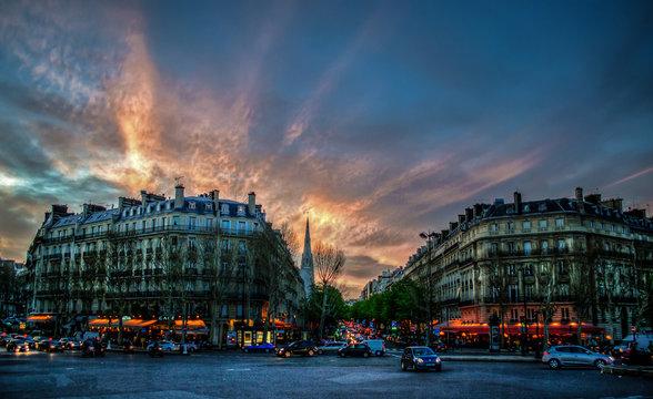 Alma Marceau in Paris