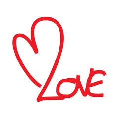 love text, valentine's day