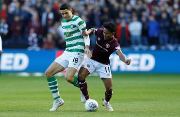 Scottish League Cup Semi Final - Heart of Midlothian v Celtic