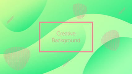 Futuristic background with liquid wavy shapes