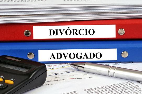 Arquivos de divórcio e advogado