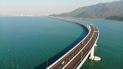 Hong Kong–Zhuhai–Macau Bridge Fotomurales