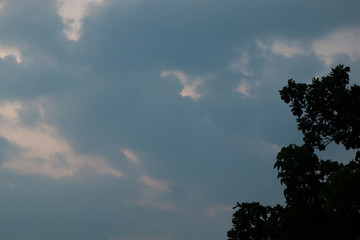 cloudy and sky background