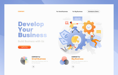 Business Processing Web Page