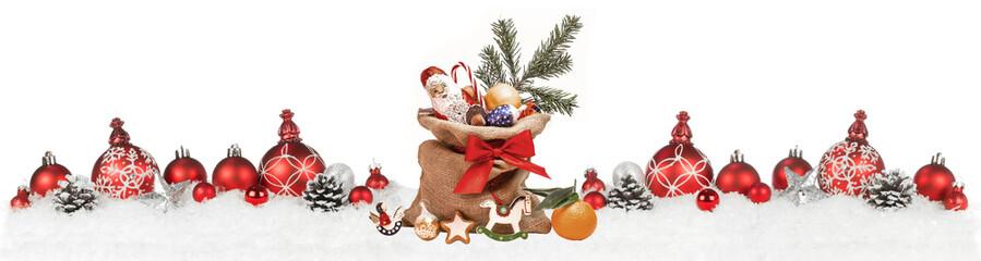 Weihnachtliches mit Nikolaussack