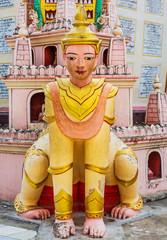 statue of the Thanboddhay Phaya near Monywa Myanmar (Burma)