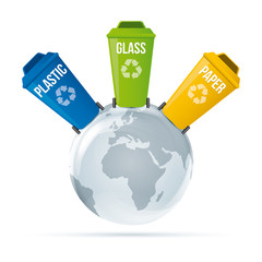 Recycling waste save the world