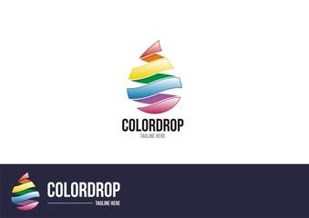 Color Drops Logo #2