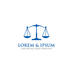 Attorney & Law Firm Logo Template