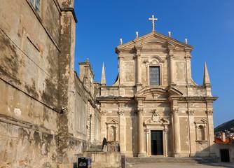 St Ignatius of Loyola Church in Dubrovnik, Croatia