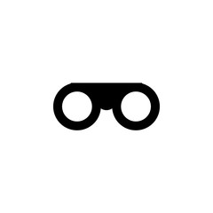 Binoculars icon. One of simple collection icons for websites, web design, mobile app