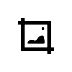 Image  icon. One of simple collection icons for websites, web design, mobile app