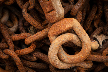 Rusty Chain and Coupling