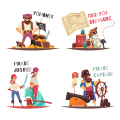 Pirate Justice Design Concept