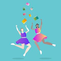 girls graduated