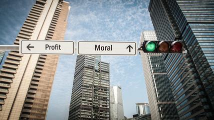 Schild 393 - Moral