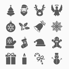 christmas set icon