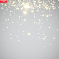 Sequins, light effect, festive atmosphere