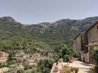 Wandern in den Bergen Spaniens