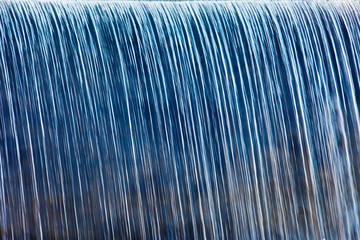 Close up picture of waterfall in Pigeon Forge - Smoky Mountains area ,Tennessee USA.