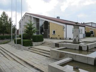 Das Rathaus der Gemeinde Steinenbronn (Kreis Böblingen)