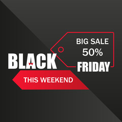 BLACK FRIDAY. Sales tag. Layout background. For art template design, list, page, mockup brochure style, banner, idea, cover, booklet, print, book, card, ad, sign, poster, badge.