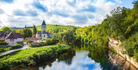 saint-léon-sur-vézère, frankreich