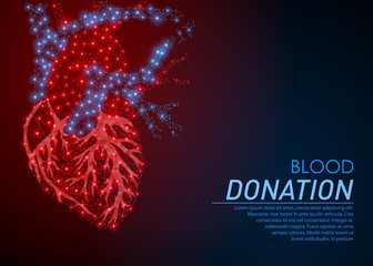 Blood donation or World heart day 29 September