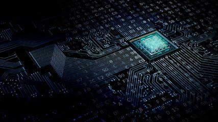 Internet data concept