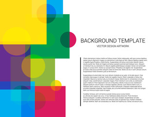 Vector of abstract geometric pattern and background. Minimal design. Use for modern design, decorated brochure and flyer.