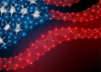 USA flag Independence Day