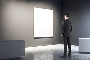 Businessman in black gallery