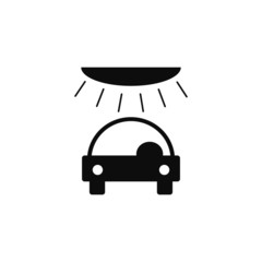 carwash, icon vector illustration EPS 10
