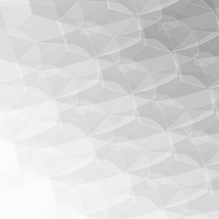 Gray vector shining hexagonal pattern. Shining colored illustration in a Brand new style. The textured pattern can be used for background.