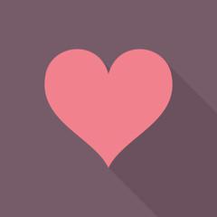 Heart flat