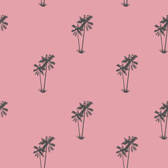 Palm pattern. Exotic Tropical tree. Tropical delight