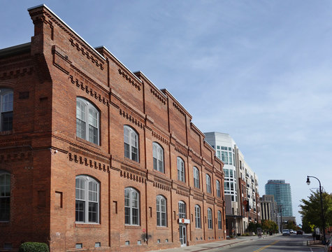 Durham tobacco warehouse apartment building