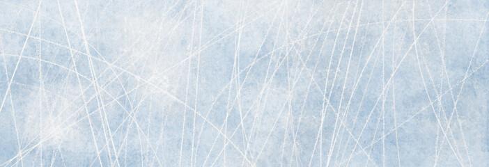 Textur Eisbahn, Winter Hintergrund für Werbeflächen