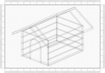 Dog House Architect blueprint