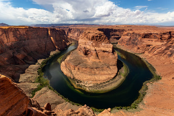 Horseshoe bend landscape, Arizona, United States