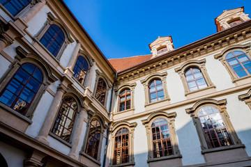 Le Palais Wallenstein à Prague