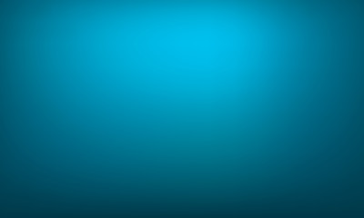 Abstract blue gradient background. Bright gradient