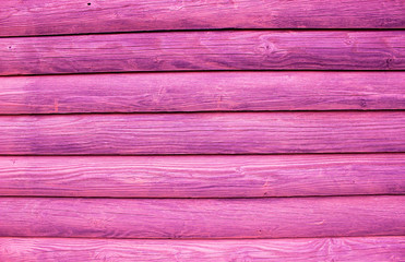 Pink Wooden Wall Texture For Background