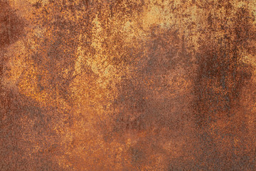 Abstract grunge rusted metal texture. Rusty corrosion and oxidized background. Worn metallic iron panel. Rough Surface Texture.