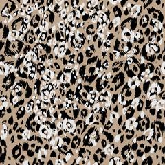 Leopard textured skin