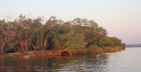 Zambezi River light