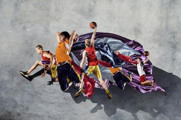 Basketball game as religion