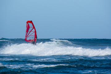 Windsurf a Berchida, Sardegna - Italia